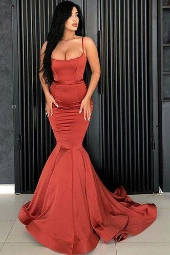 Ankle-Length Prom Dress with Cowl Neckline