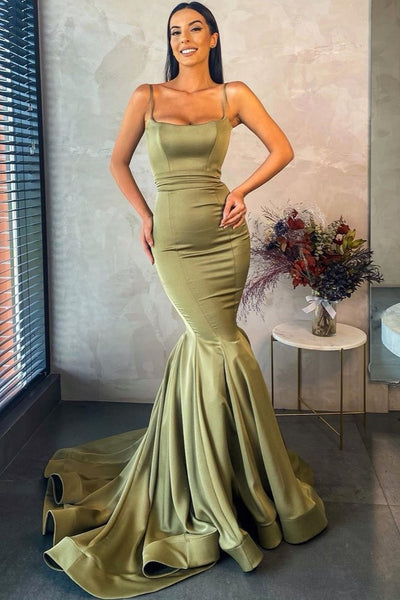 square-neckline-olive-green-prom-dresses-with-mermaid-skirt