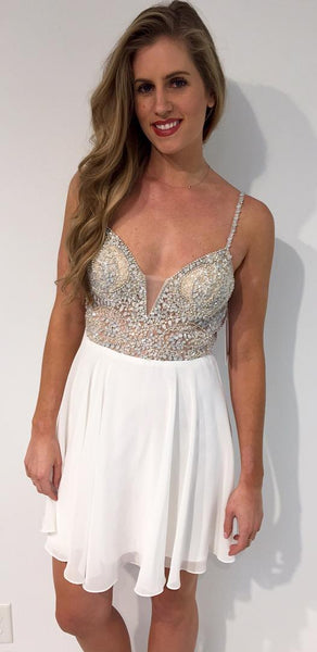 stones-and-beaded-chiffon-white-homecoming-party-dresses-short-1