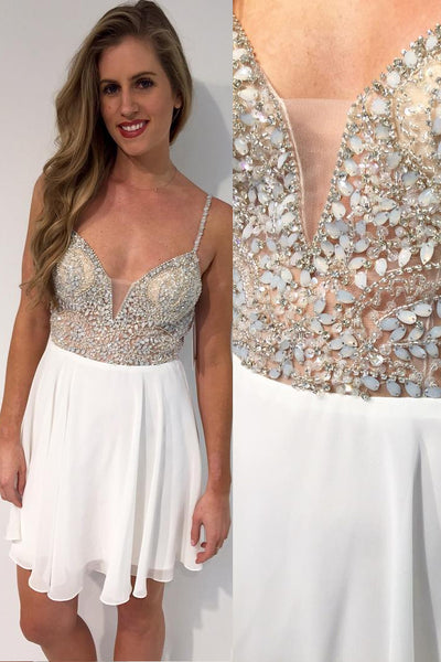stones-and-beaded-chiffon-white-homecoming-party-dresses-short