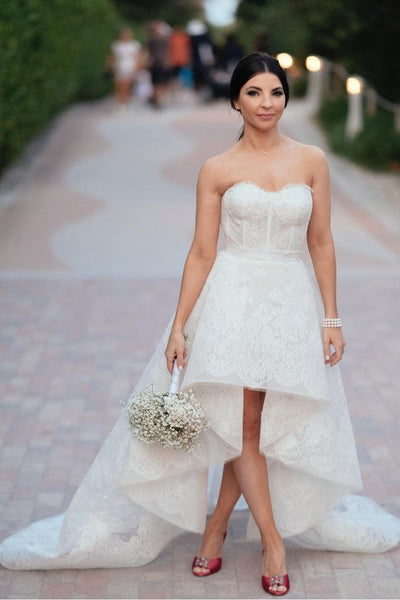 strapless-lace-high-low-wedding-dress-2021