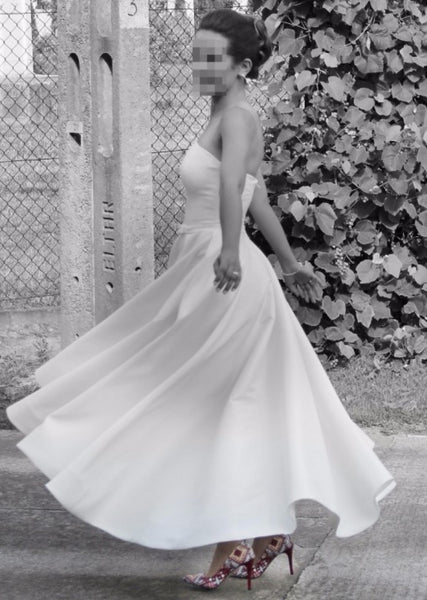 strapless-satin-high-low-wedding-dress-backless-2