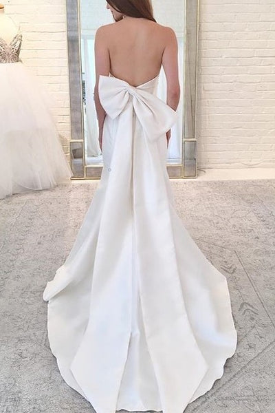 strapless-satin-mermaid-bridal-gown-with-bow-back-1