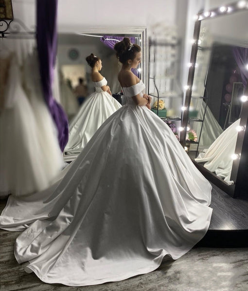stylish-off-the-shoulder-sleeves-wedding-gown-with-satin-long-train-2