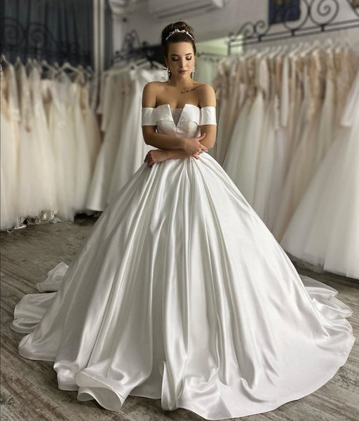 stylish-off-the-shoulder-sleeves-wedding-gown-with-satin-long-train-3