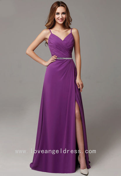 sweetheart-chiffon-long-purple-prom-dresses-with-slit-side