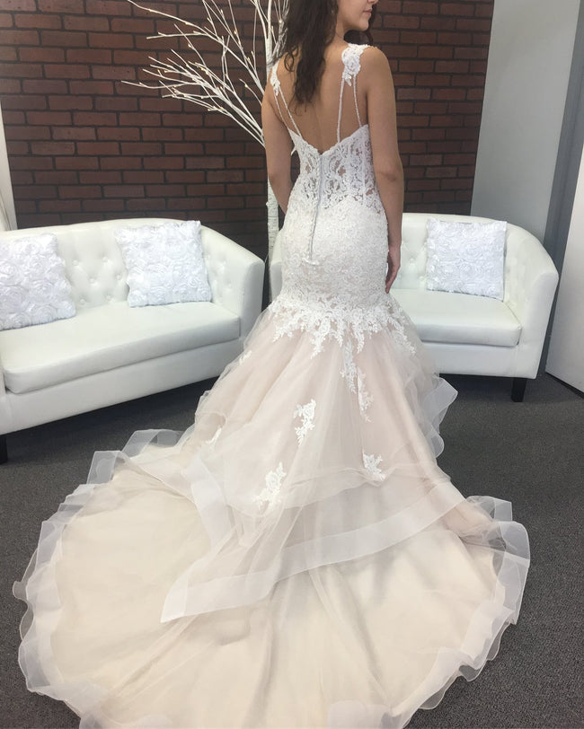 sweetheart-dropped-waist-mermaid-wedding-dress