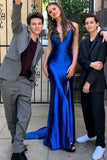 sweetheart-royal-blue-evening-dress-with-slit-side