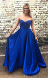 sweetheart-royal-blue-satin-prom-gowns-with-beaded-bodice-vestido-de-fiesta-1