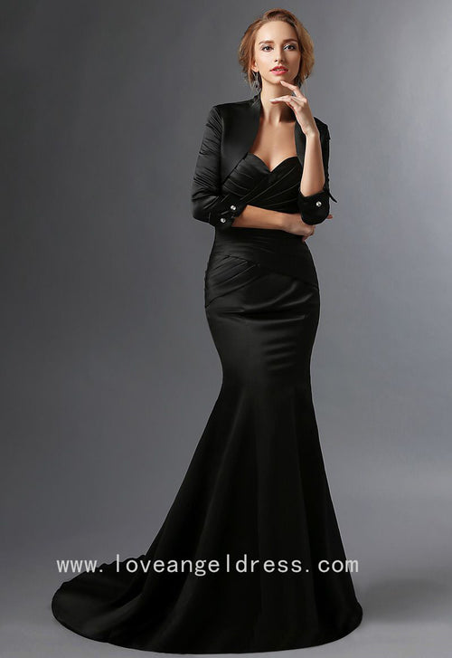 sweetheart-satin-black-mermaid-mother-of-the-groom-dress-with-bolero