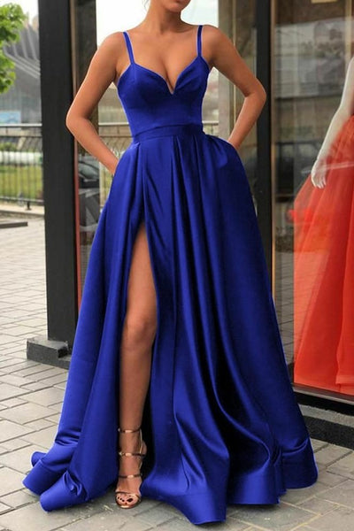 sweetheart-satin-black-prom-evening-gown-with-pockets-1