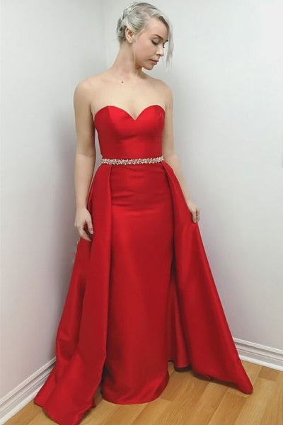 sweetheart-satin-red-long-prom-dresses-with-beaded-belt-2019