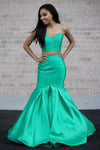 sweetheart-top-satin-mermaid-two-piece-prom-dresses