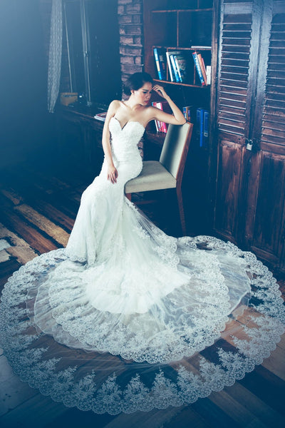 three-layers-lace-wedding-dress-with-sweetheart-bodice-1