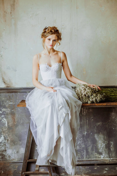 tulle-skirt-girl-wedding-dresses-with-lace-bodice