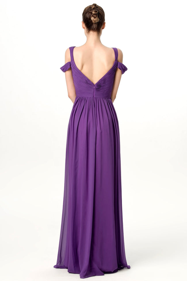 purple-long-bridesmaid-wedding-guest-dresses