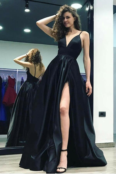 v-neck-maxi-side-slit-evening-prom-dress-with-spaghetti-straps