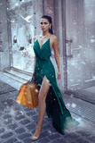 v-neckline-dark-green-promdress-womens-maxi-long-party-gown-1