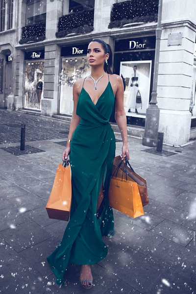 v-neckline-dark-green-promdress-womens-maxi-long-party-gown