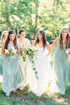 v-neckline-sage-long-bridesmaid-gown-chiffon-skirt-2