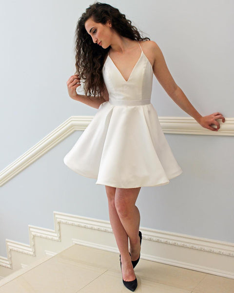 v-neckline-simple-ivory-little-party-dress-cheap-vestido-de-fiesta-1