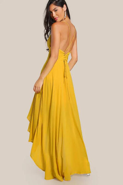 v-neckline-yellow-high-low-prom-dresses-with-x-back-1