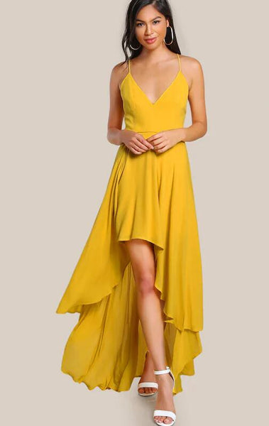 v-neckline-yellow-high-low-prom-dresses-with-x-back-2