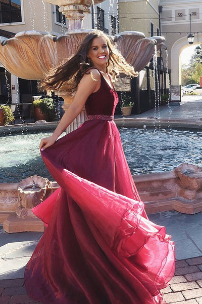 vestido-de-fiesta-a-line-burgundy-organza-prom-gown-with-beaded-belt-1