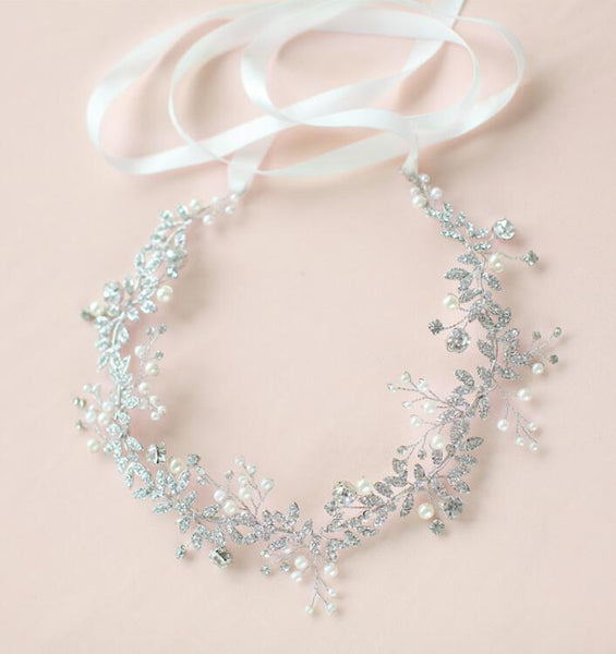wedding-hair-vine-pearl-crystal-headpiece-bridal-ribbon-headband