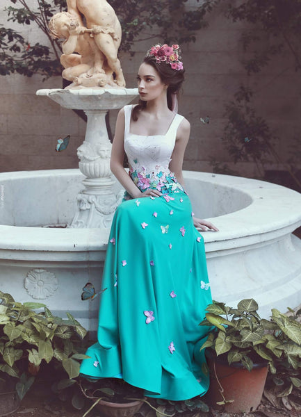 white-and-blue-long-prom-dresses-with-multi-butterflies