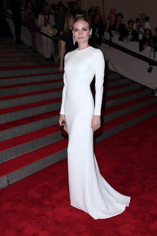 white-modest-evening-dresses-with-long-sleeves