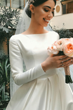 white-satin-modest-wedding-dresses-with-long-sleeves-3