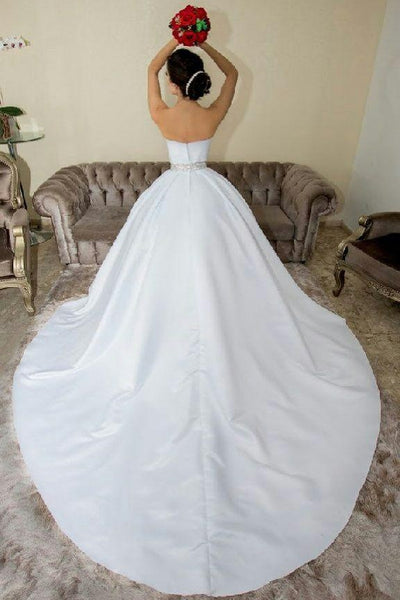 white-satin-wedding-ball-gown-dresses-with-rhinestones-belt-1