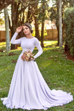 white-spandex-long-sleeves-wedding-dress-2021-spring