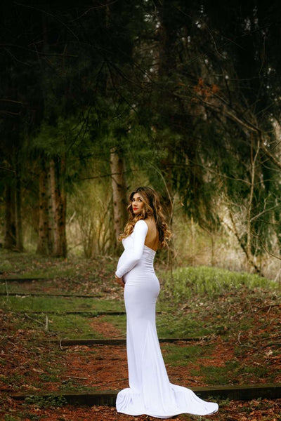 white-spandex-maternity-dresses-with-long-sleeves-5