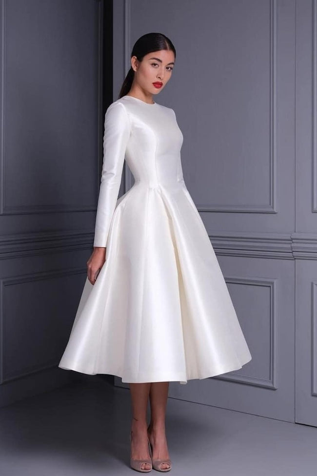 women-modest-midi-wedding-dresses-with-long-sleeves-1