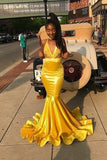 yellow-bodycon-mermaid-prom-dresses-long-with-appliuqes