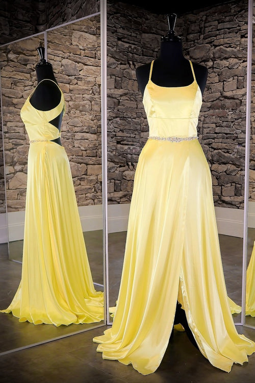 yellow-long-prom-dress-with-slit-side-vestido-de-fiesta-de-graduación