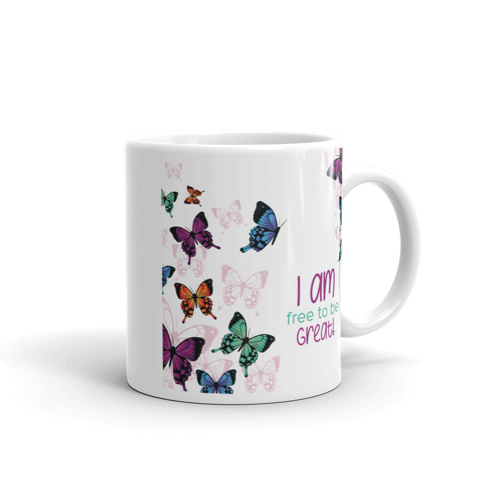 I Am Mug-Butterflies