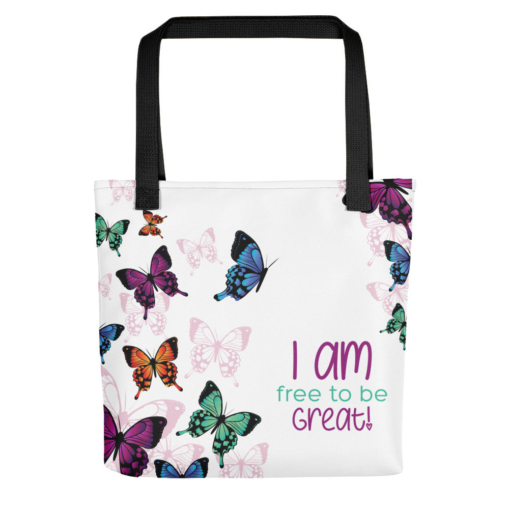 I Am-Butterflies Tote bag