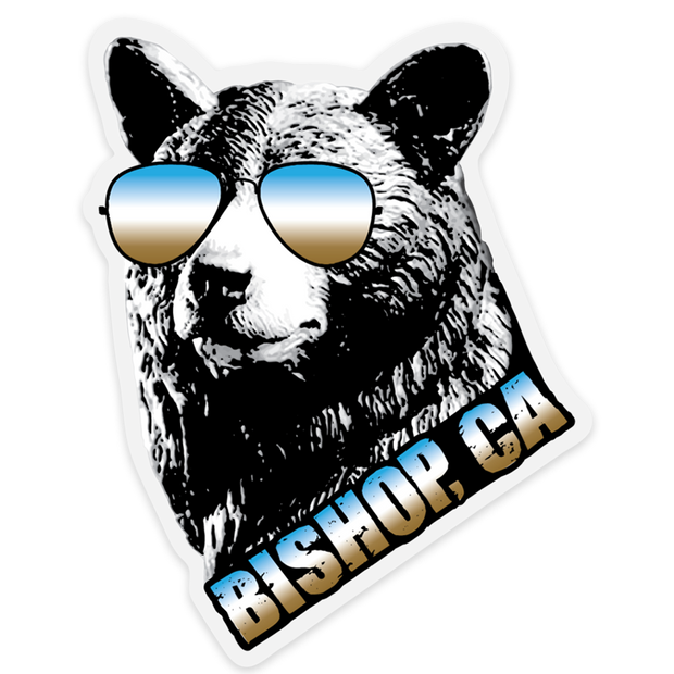 Bishop Cool Bear Outdoor Decal