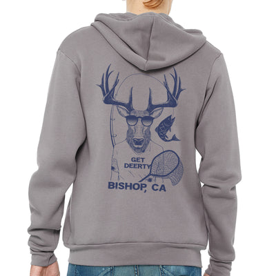 Bishop GetDeerty Fly Fish Zip Hoodie