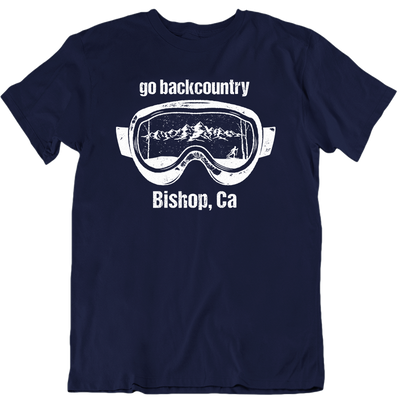 Bishop Go Backcountry Ski Goggles Unisex T-Shirt