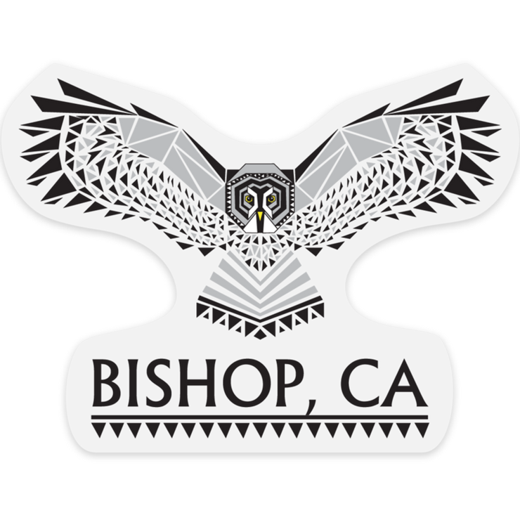 Bishop Grey Owl Outdoor Decal