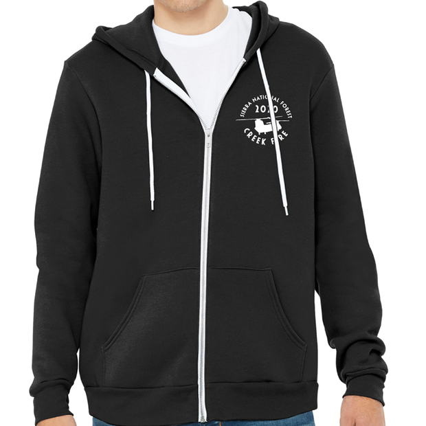 Creek Fire Fundraiser - Zip Hoody