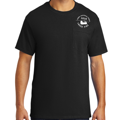 Creek Fire Fundraiser - Mens Pocket T-Shirt