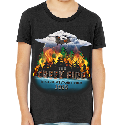 Creek Fire Fundraiser - YOUTH T-Shirt