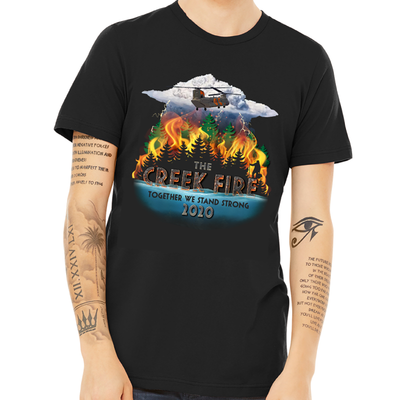Creek Fire Fundraiser - Unisex T-Shirt