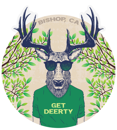 Bishop - Get Deerty - Outdoor Decal