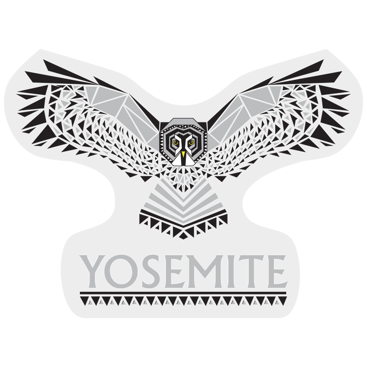 Yosemite Grey Owl Outdoor Decal